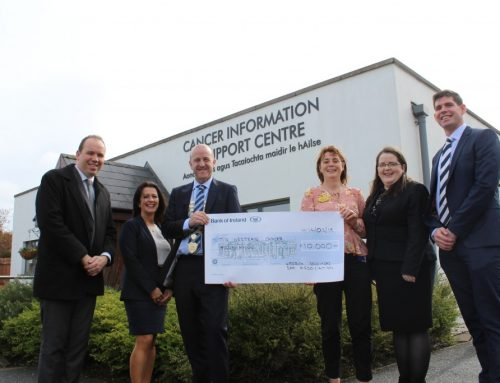LSBA also present cheque for €10,000 to Mid-West Cancer