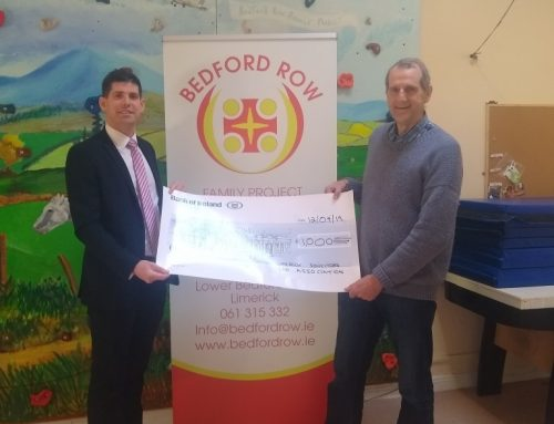 LSBA donates €1,000 to the Bedford Row Famlily Project