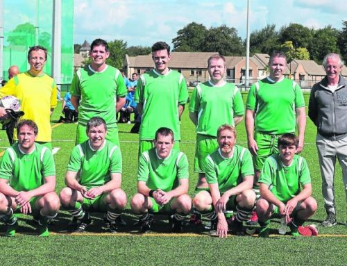 Limerick solicitors display defending skills on the soccer pitch instead of in court