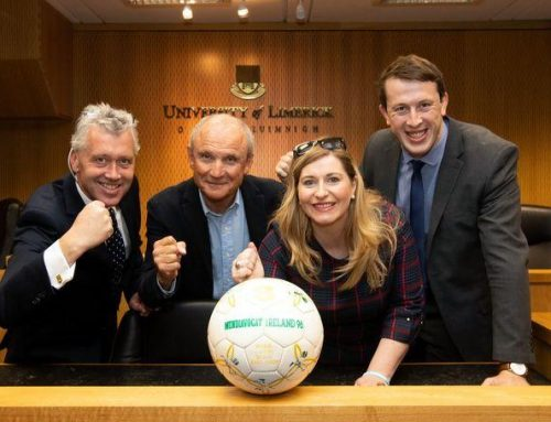 Limerick solicitors compete in the #Eurolawyers European Football Cup hosted at UL